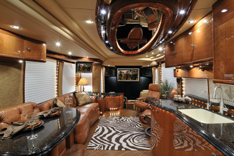 Prevost Motorhomes - On the Road, as Good as it Gets