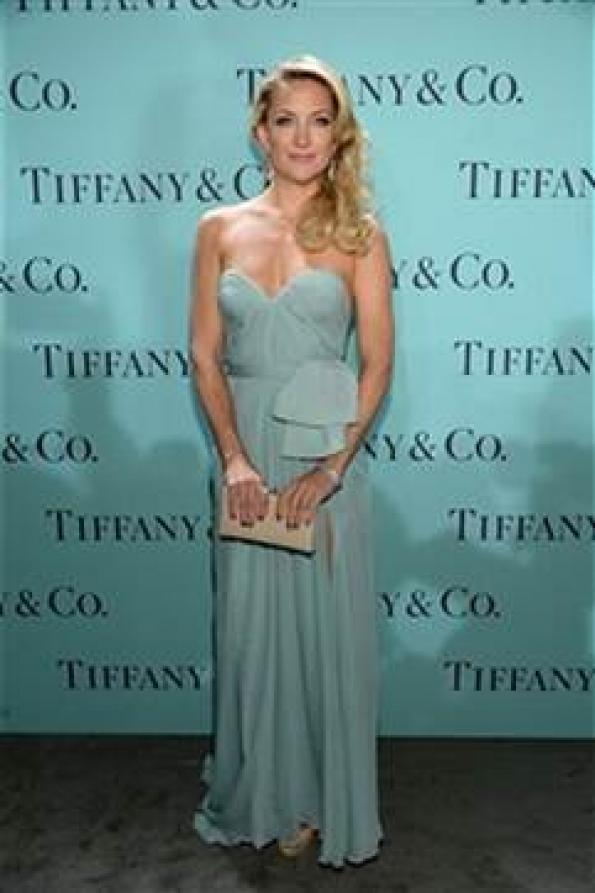 8fb71615119f5 Celebrities Wear New Tiffany Collection at Blue Book Ball