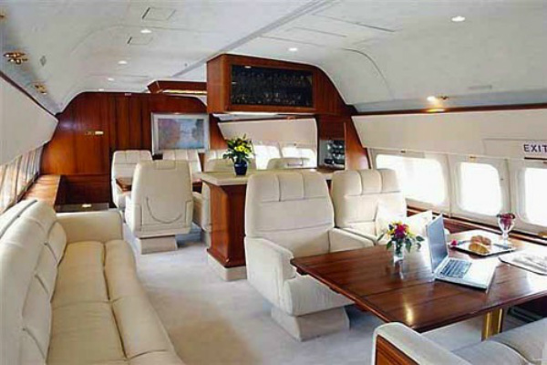 10 Top Ten Most Expensive Private Jets