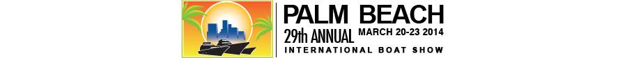 Palm Beach International Boat Show 2014 logo