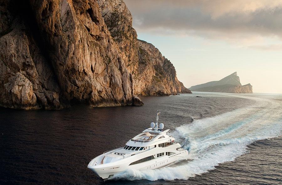 Satori From Heesen Yachts: Aluminium Semi-Displacement Yacht