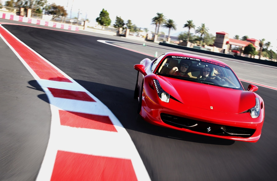 Exotics racing are you ready to stop dreaming and start for Exotic car las vegas motor speedway