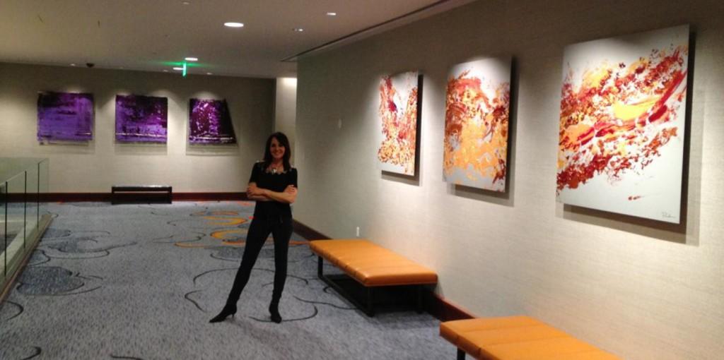Nob Hill Hours >> San Francisco Hilton Hotel Launches Pamela Nielsen Art