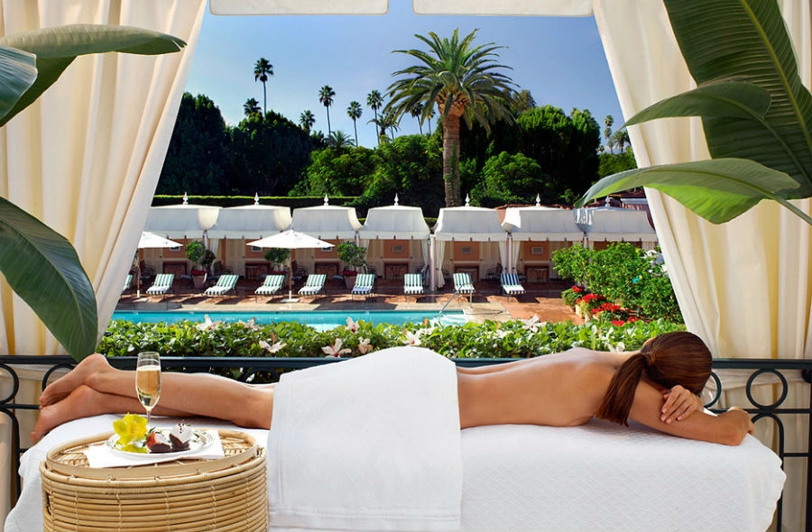 hotel bel air spa by la prairie beverly hills. Black Bedroom Furniture Sets. Home Design Ideas