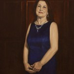 Kimberly Andrick Assistant Vice President of Wells Fargo Bank Oil on Belgian linen 30x24