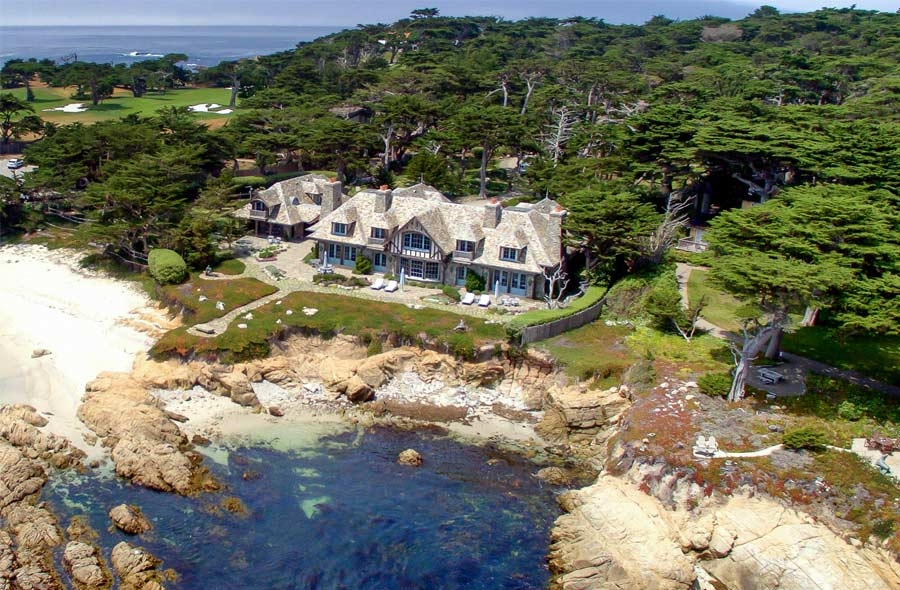 Otter cove the best pebble beach has to offer for 17 mile drive celebrity homes