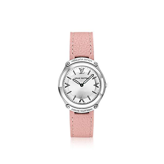 louis-vuitton-lv-fifty-five-31mm-timepieces--Q6J001 PM2 Front view