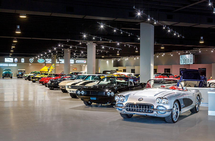 Bighorn Opens The Vault Exclusive Car Gallery And Social Club