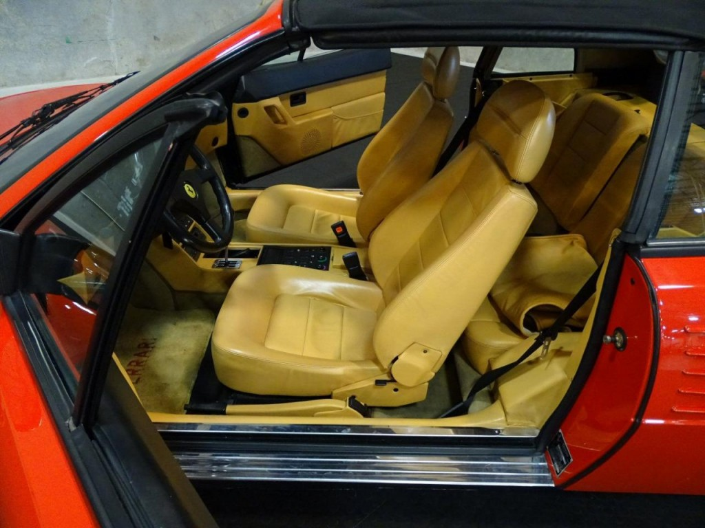 1989 ferrari mondial convertible t cabriolet. Black Bedroom Furniture Sets. Home Design Ideas
