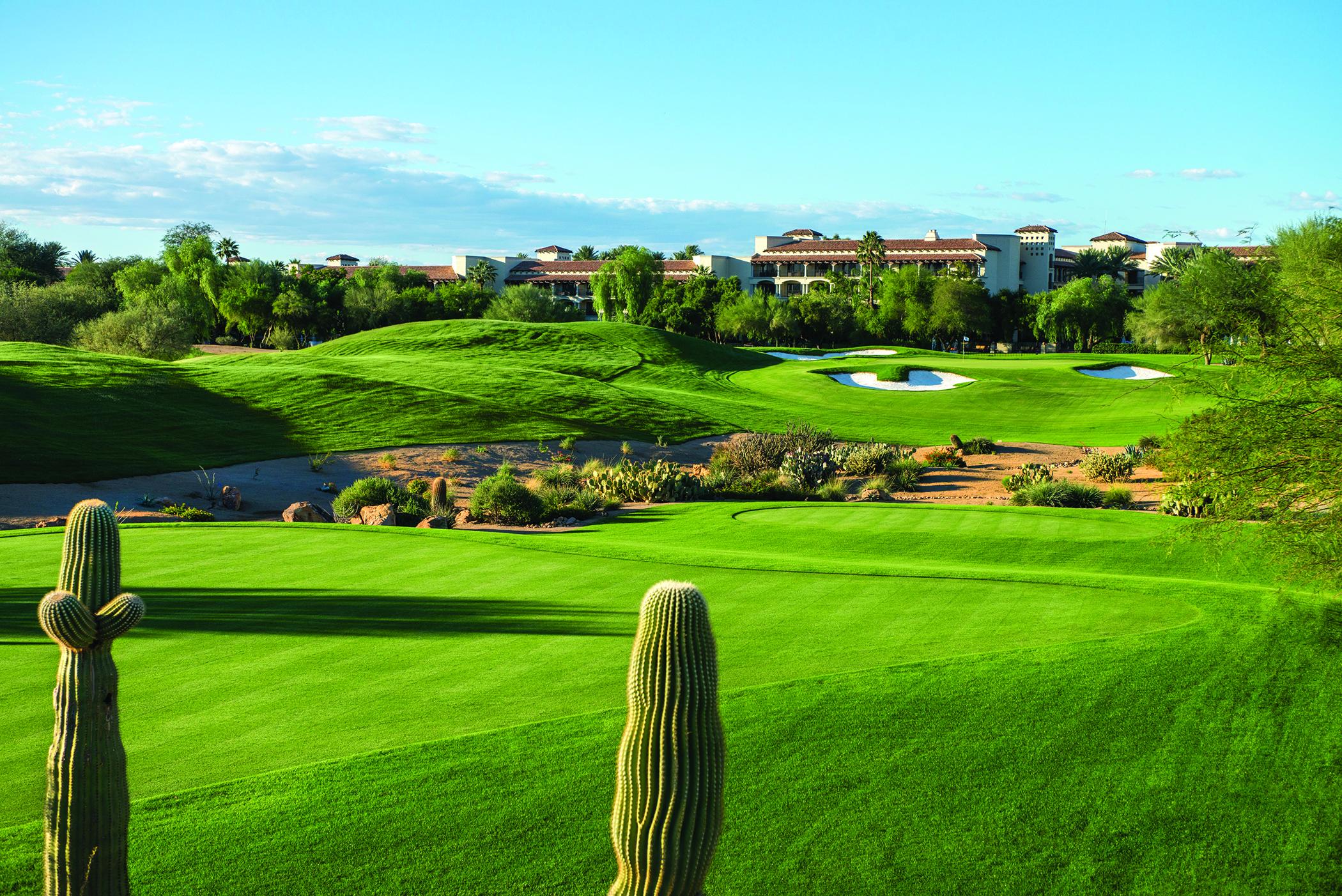 TPC Scottsdale Stadium Course Shoot-11/2014 Tom Weiskoph Architect