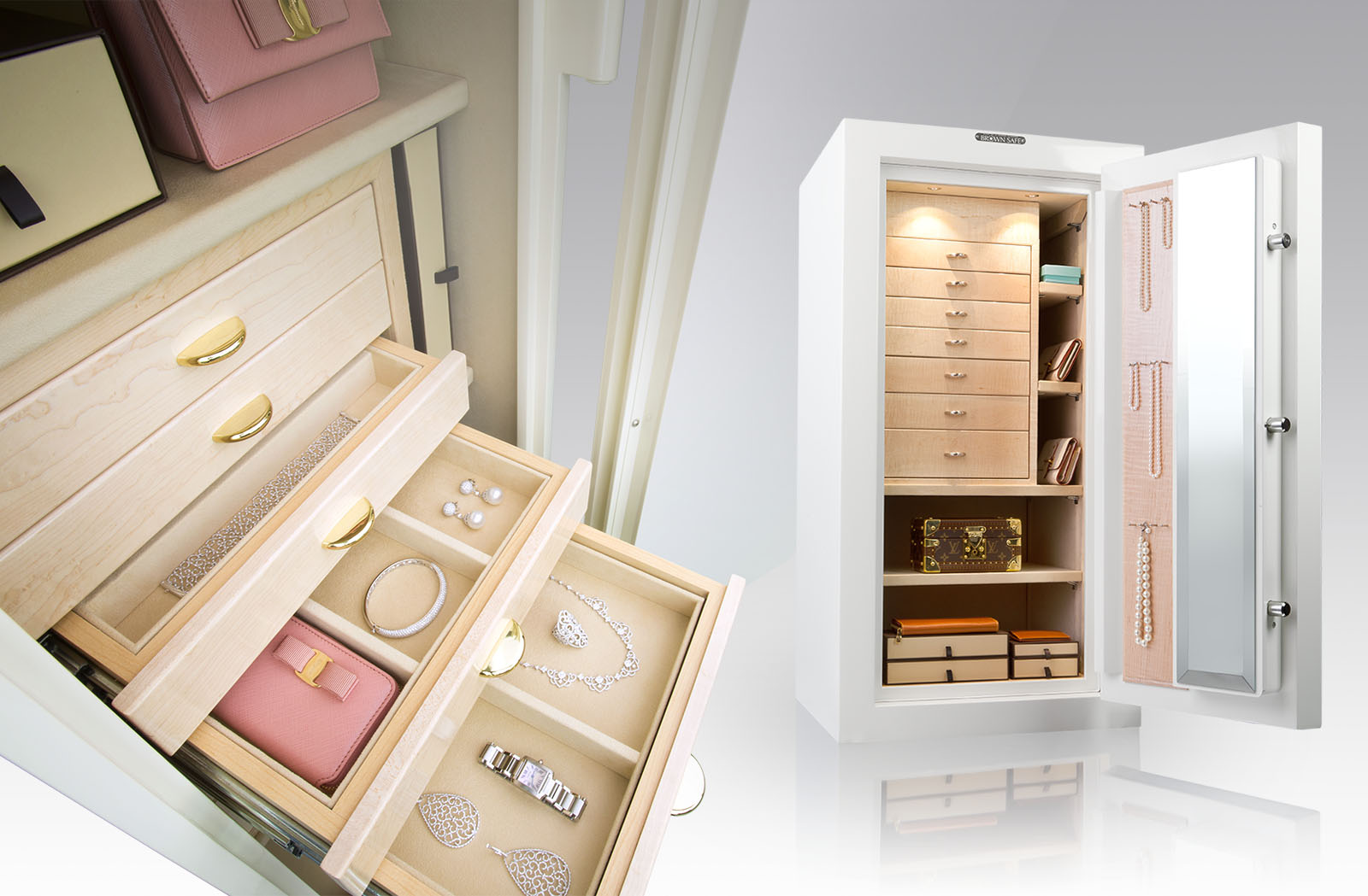 luxury safes designed to protect and enhance the enjoyment o