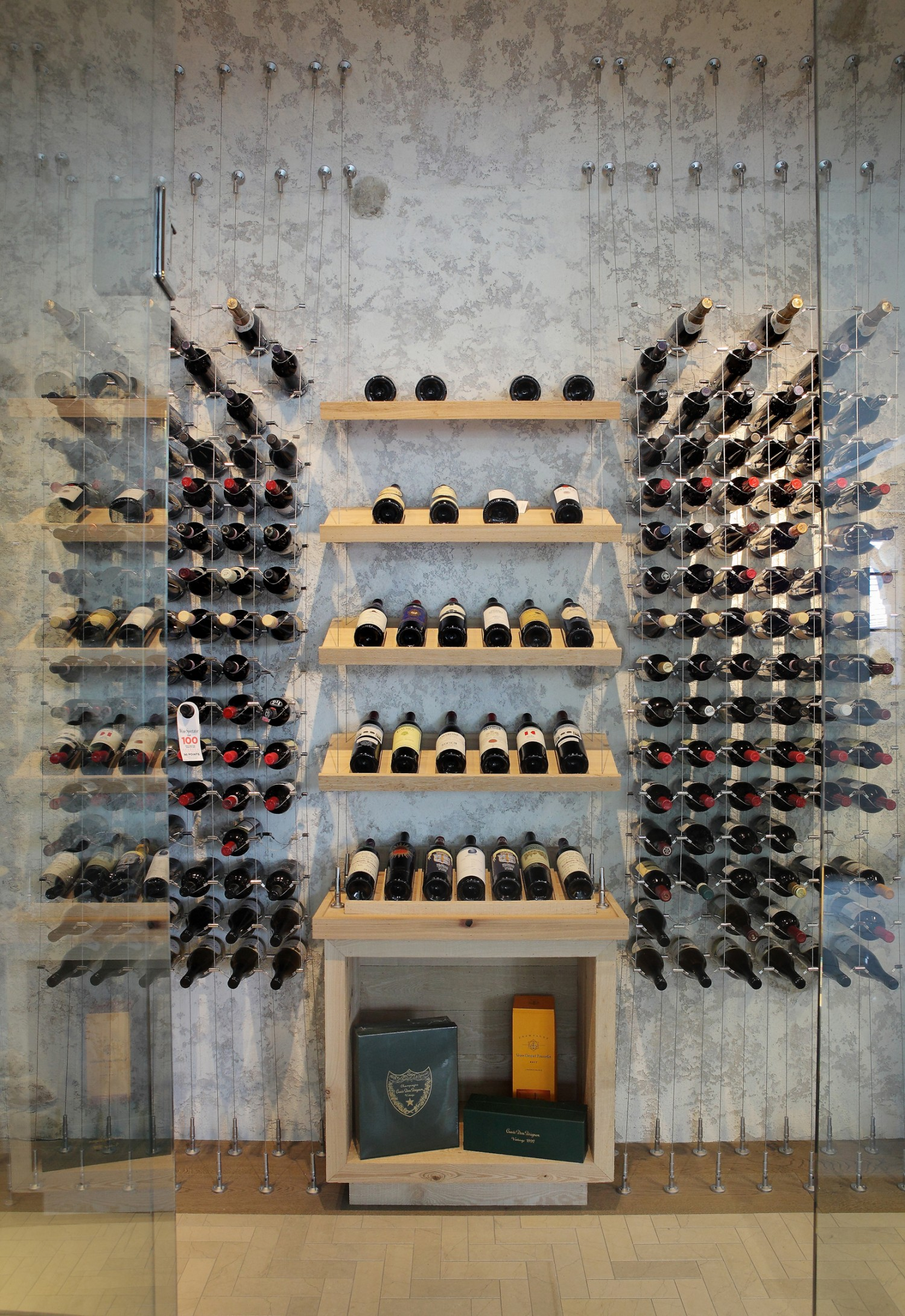 The Cable Wine System 174 Adds Sophistication And Flair To