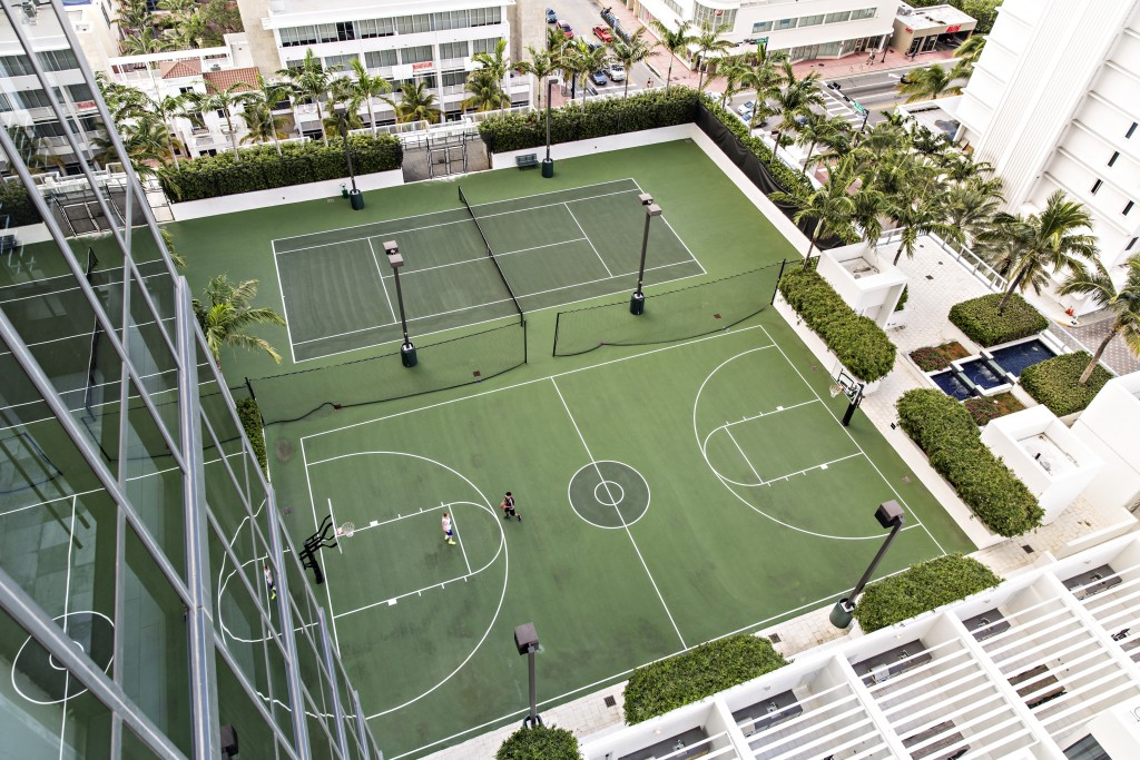 Overhead Shot_Basketball_Tennis Courts