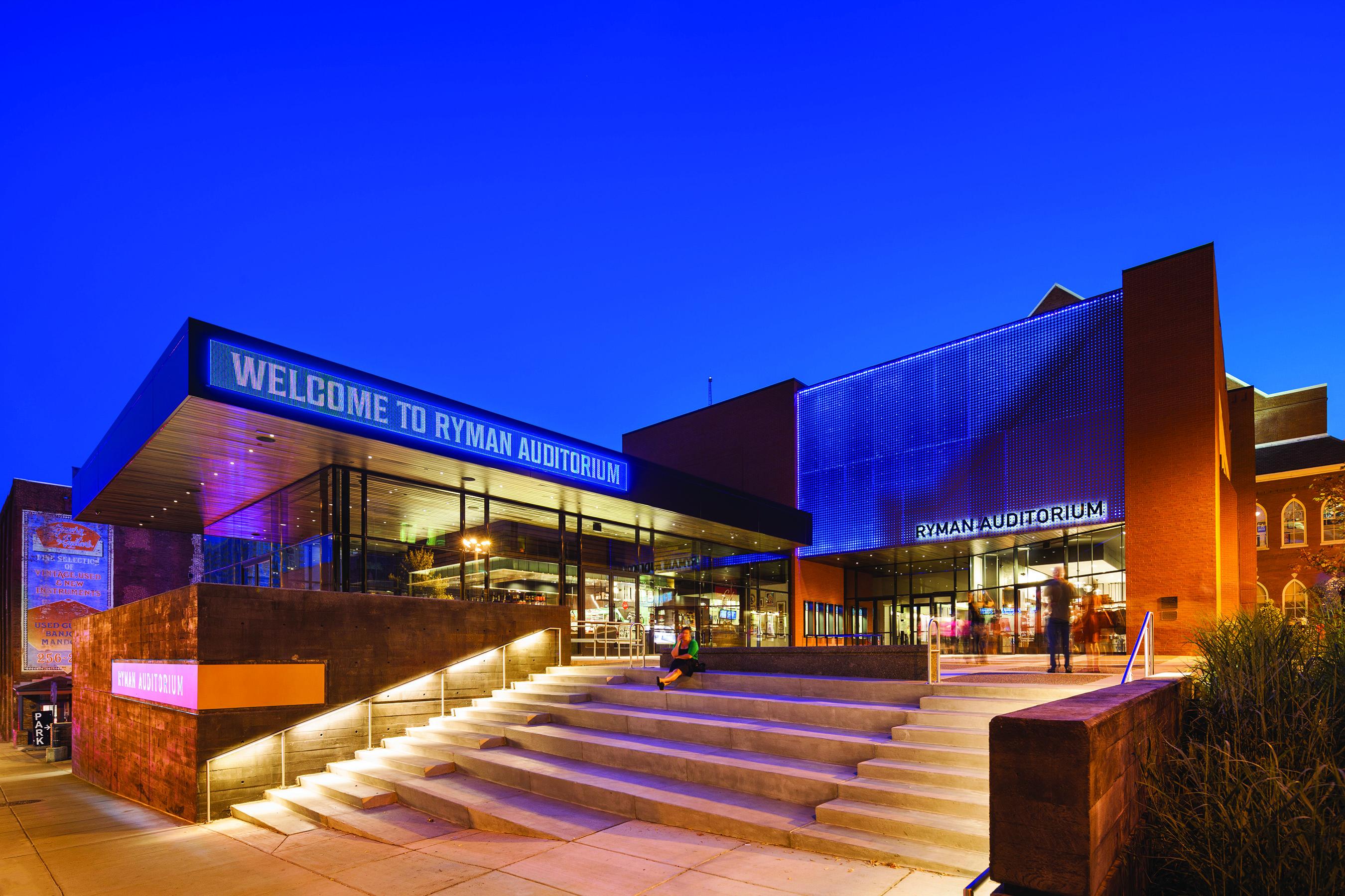 Ryman Auditorium, Location: Nashville TN, Architect: Hastings Architecture Associates