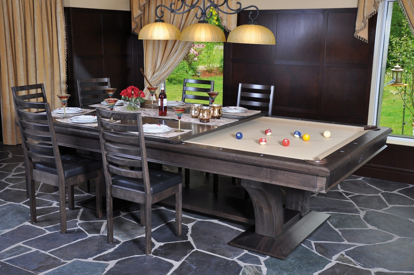dining pool table 2