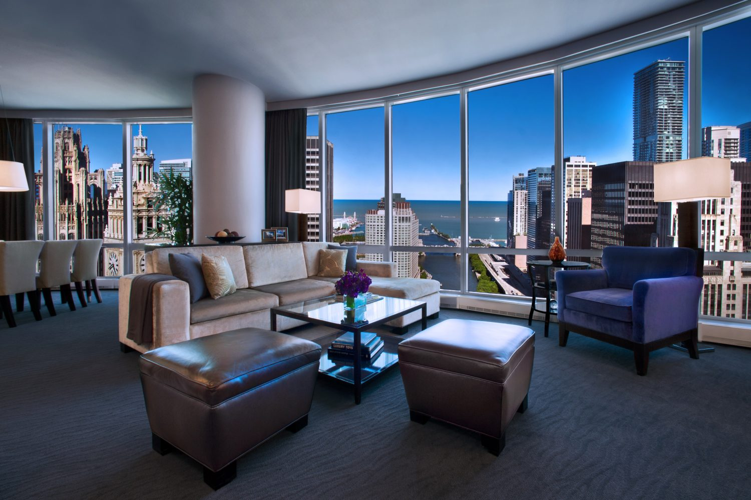 Trump Chicago Grand Deluxe Suite Lake View 2