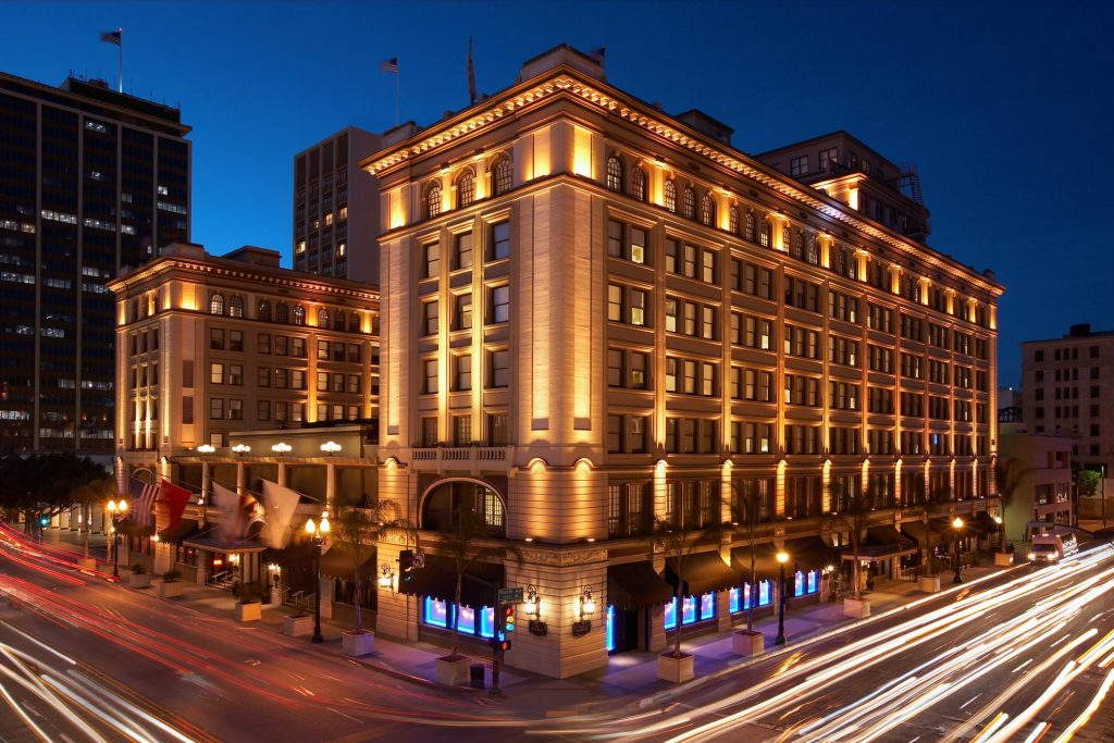 For More Urban Accommodations The Stately US Grant Hotel In Downtown San Diego Offers A Truly One Of Kind Experience Listed On National Register