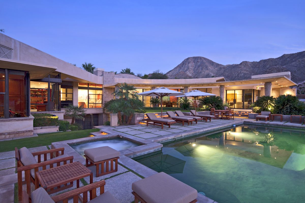 Vintage Club In Indian Wells Brilliantly Designed By Jon