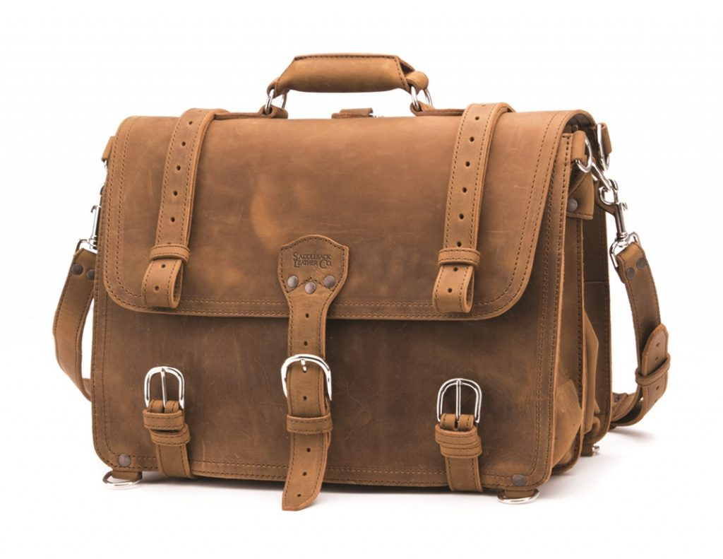 If you are interested, this Saddleback Leather Briefcase is for sale. Large Saddleback Leather Classic Briefcases in Dark Coffee Brown One Year Later Even after daily use now for over 2 years, the bag has held up great, and in fact it looks better now that its got some miles on it.