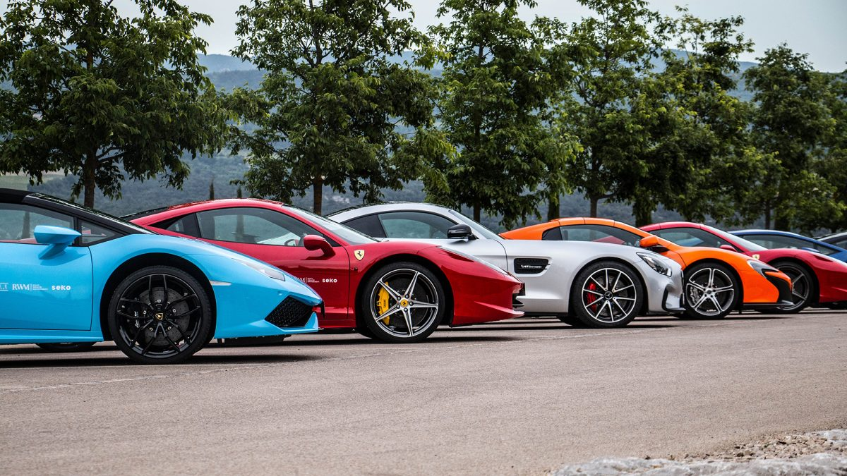Mayfair to Monte Carlo Supercar Tour