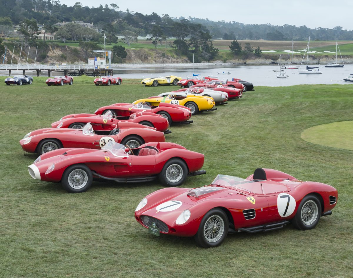 Pebble beach concours drives the desires of car collectors for Pebble beach collection