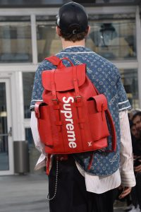 188a979876e0 To say that Louis Vuitton and Supreme are unlikely bedfellows would be an  understatement. It s as if Kendrick Lamar did a song with Cher and it  instantly ...
