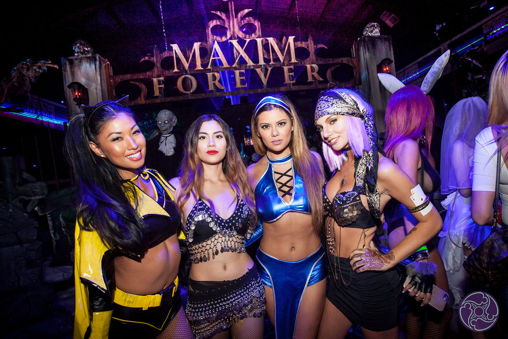 The 2017 Maxim Halloween Party