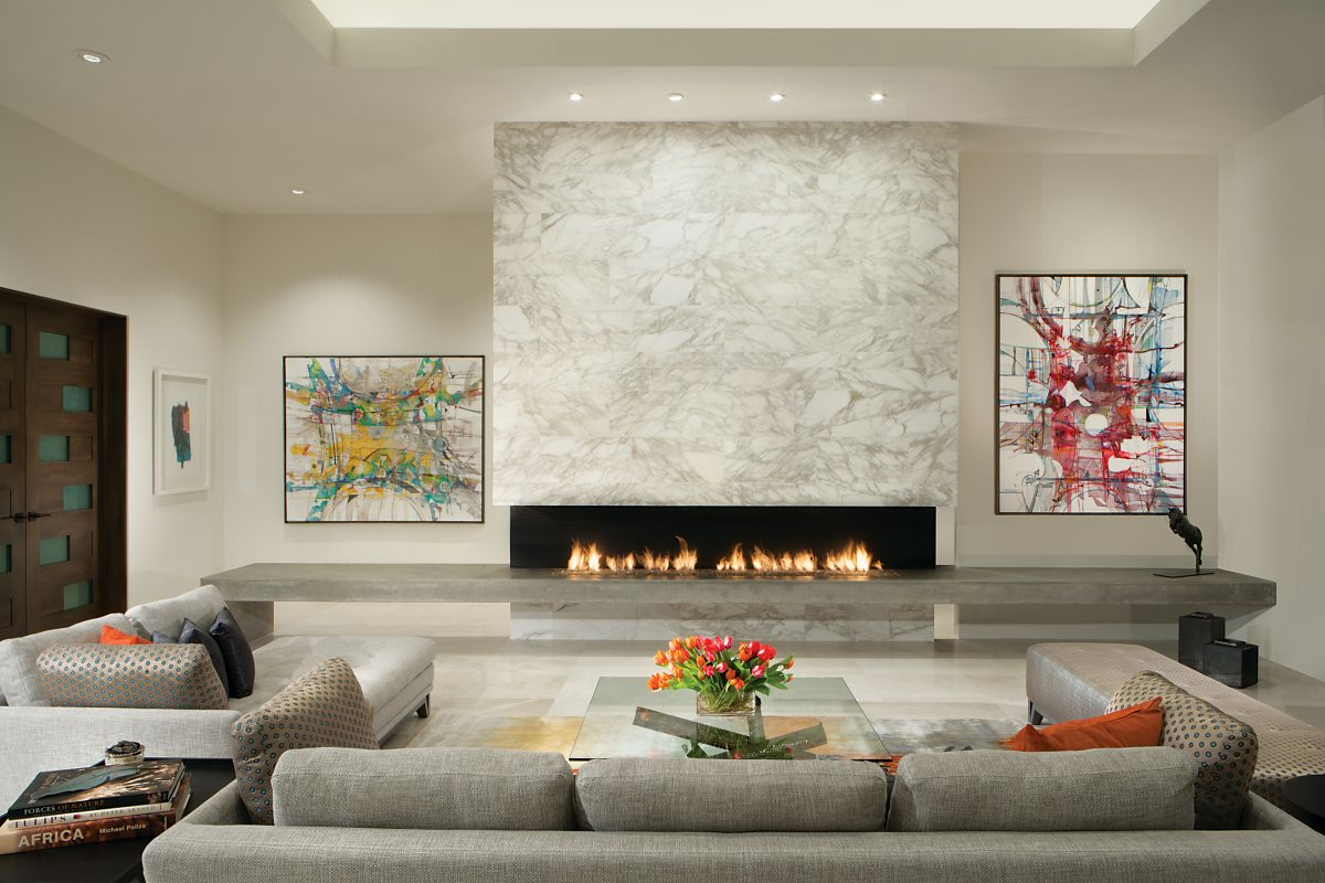 Janet brooks design luxury that lives well for Great room fireplace
