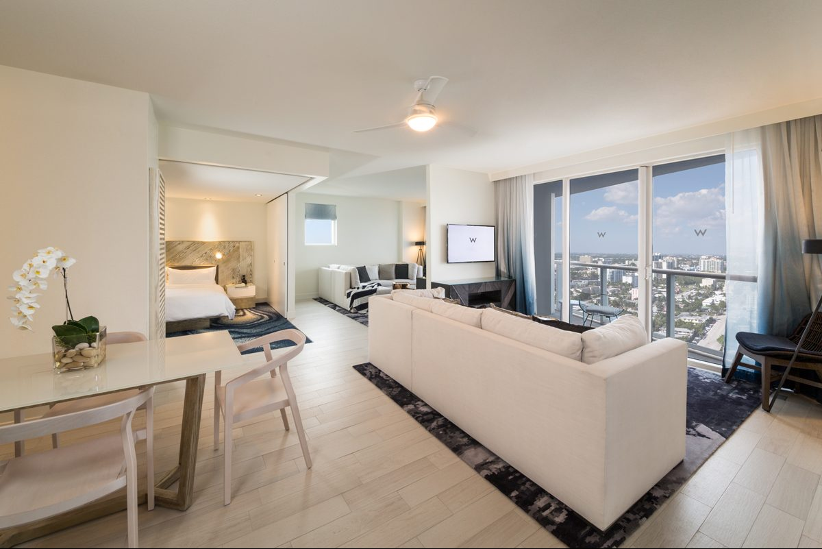 Oceanside Living: W Residences Fort Lauderdale