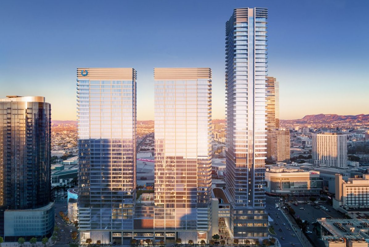 Oceanwide-Plaza-Hero-from-Flower-St-e1530828428228 High Rise, High Style: Oceanwide Plaza's Upscale Urban Living in DTLA