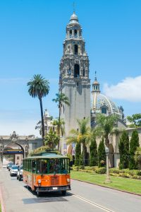 Balboa Park courtesy of Old Town Trolley Tours