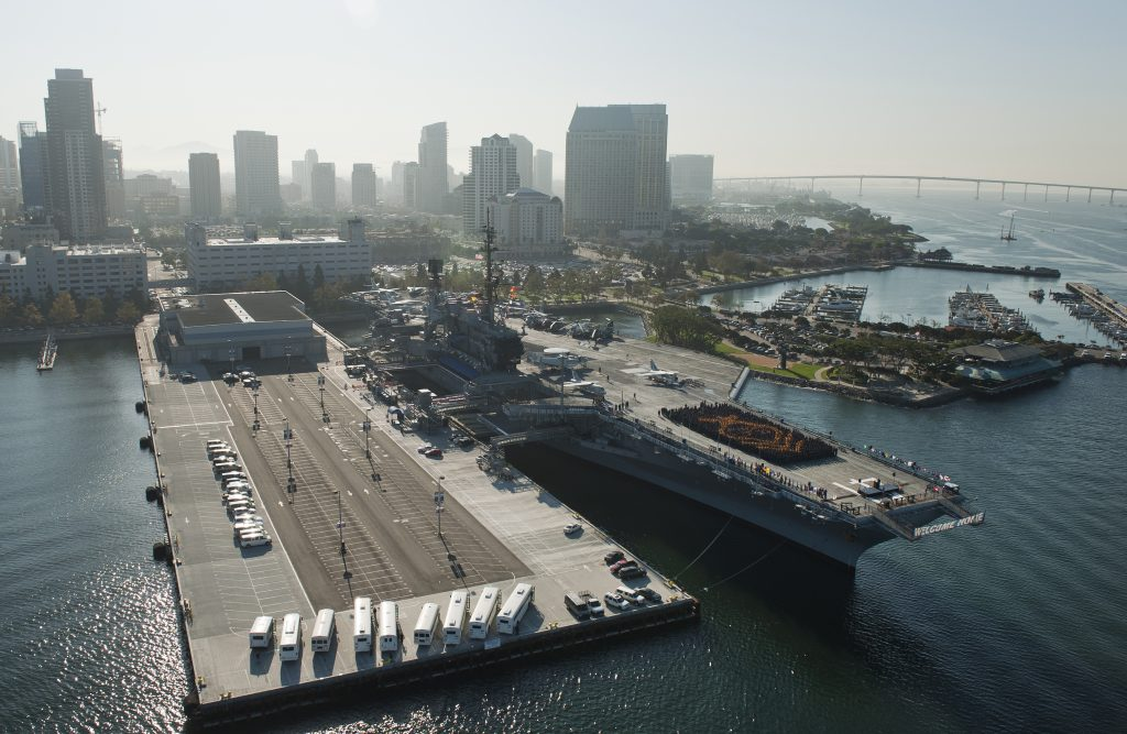 USS Midway Museum (Photo by Mass Communication Specialist 2nd Class James R. Evans/Released)