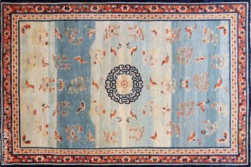 18th Century Kansu Carpet China