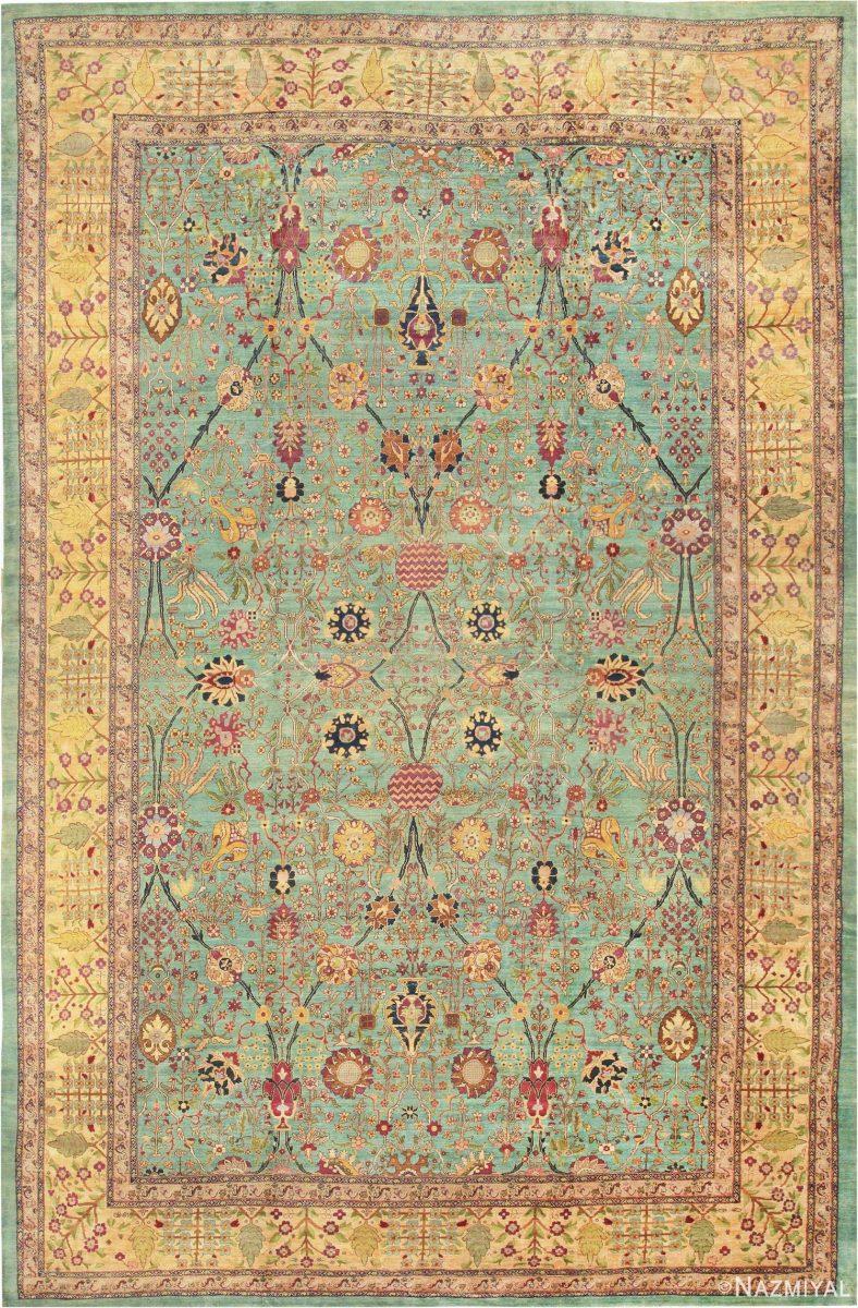 Antique Agra Oriental Rug