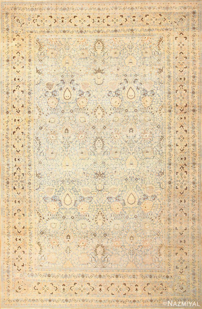 Antique Floral Persian Khorassan Rug