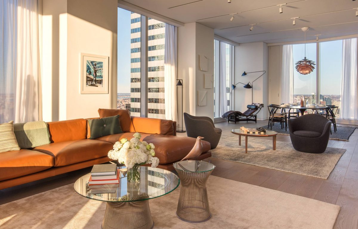 private floor residences