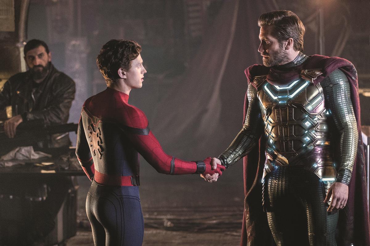Jake Gyllenhaal in Spiderman 3
