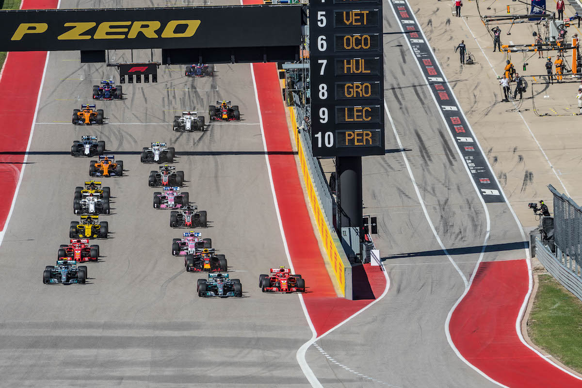 US Grand Prix at COTA