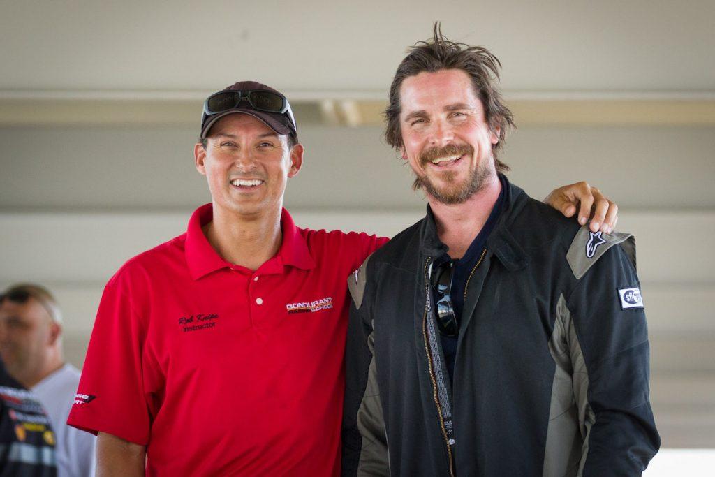 Christian Bale & Rob Knipe