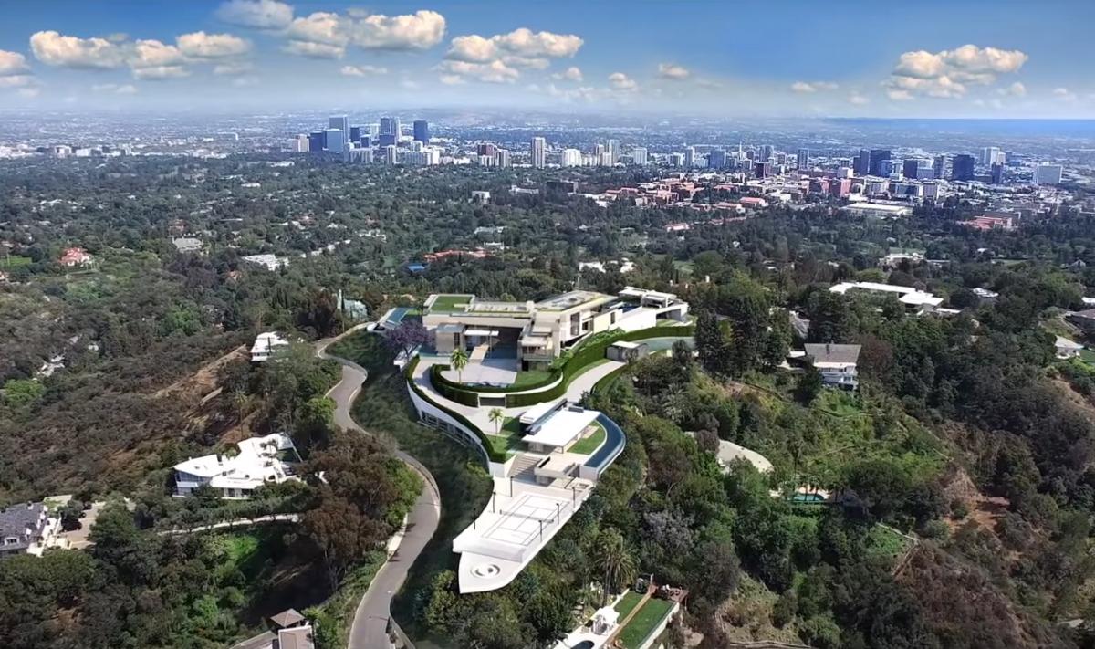 The One Bel Air Mega Mansion