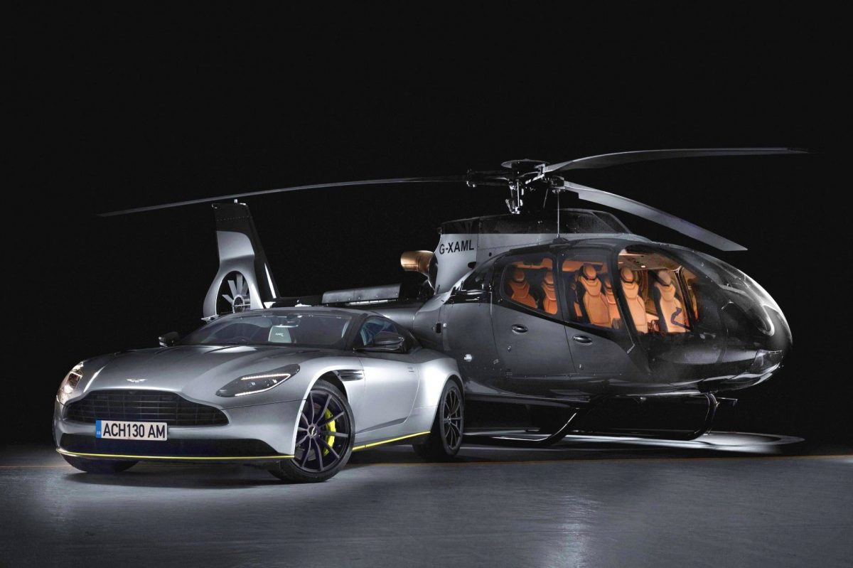 Luxurious Landings: Airbus Launches the ACH130 Aston Martin Edition