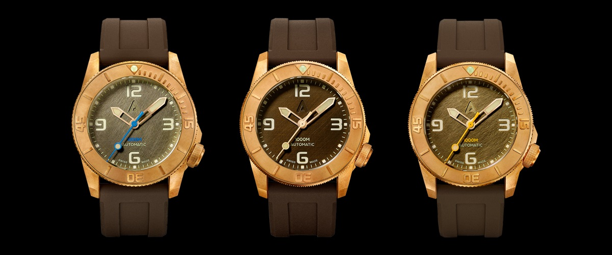 Designated Diver: Introducing the Andersmann Bronze 1000m