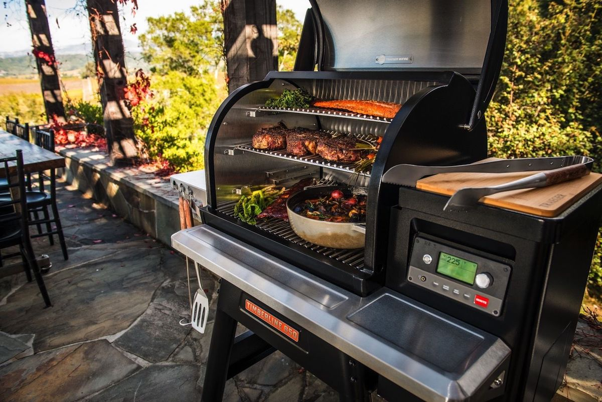 Hot BBQ Tech: New Traeger WiFIRE Grill Connects to Your Smartphone