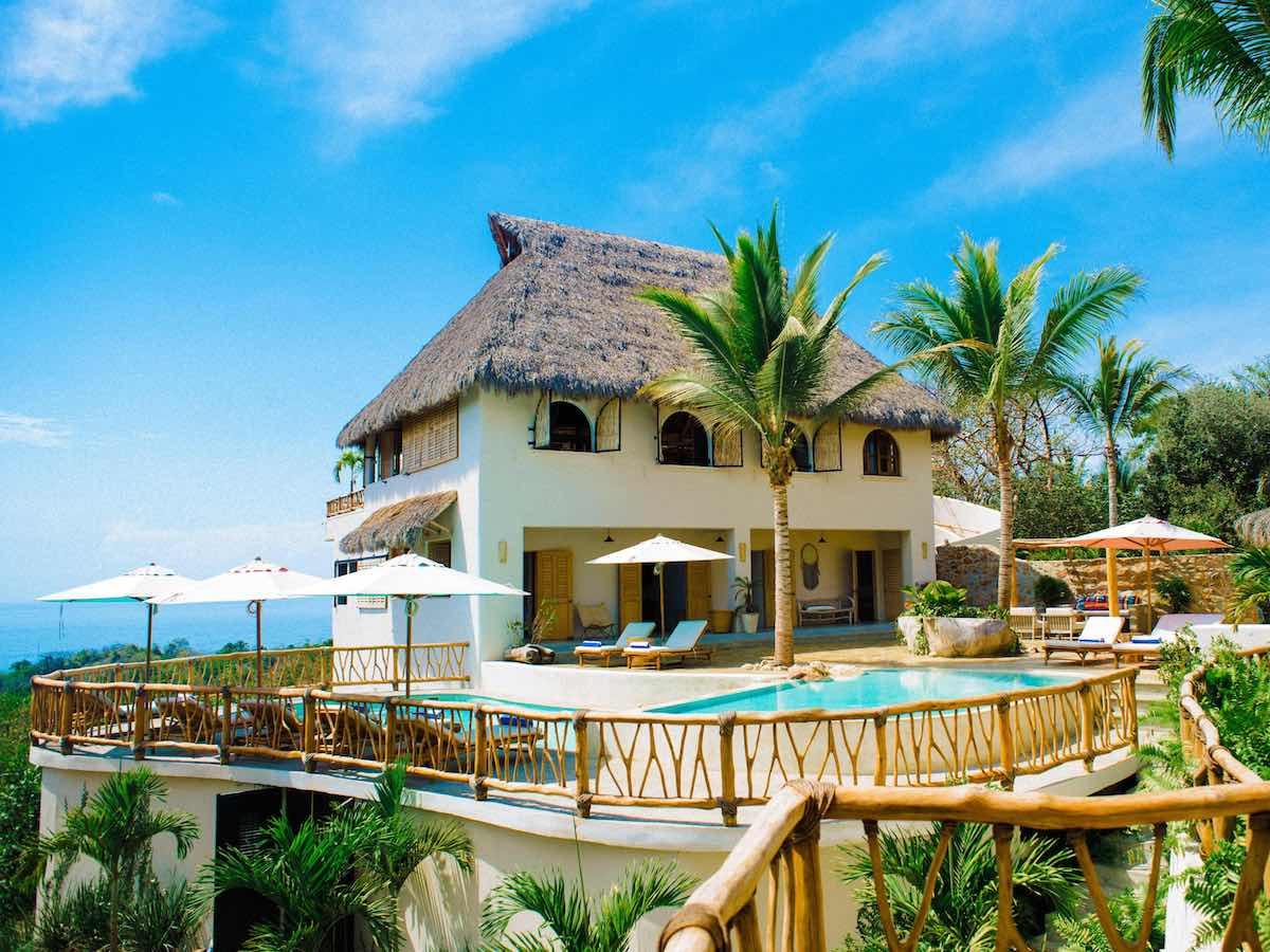 Private Hilltop and Ocean Views at Villa Valentin