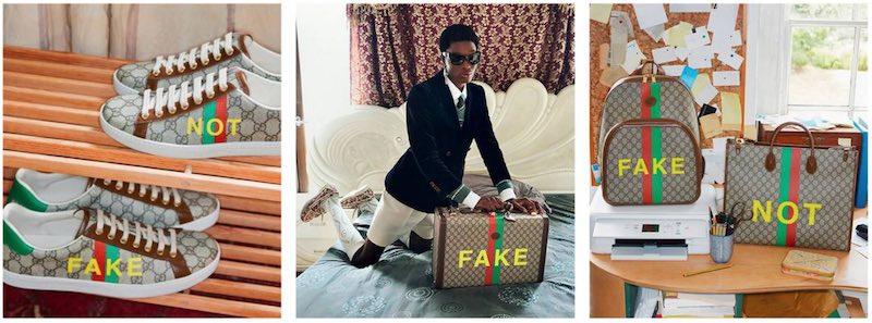 Gucci Fake Not