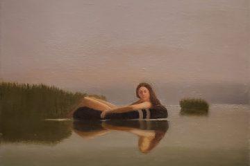 Keith Kattner - Achelois of Tarpon Springs; 12in x 16 in; Oil on Canvas; 2015