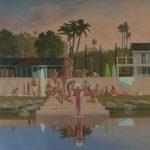 "Keith Kattner - Reflection Four; 30"" x 30""; Oil on Canvas; 2016"