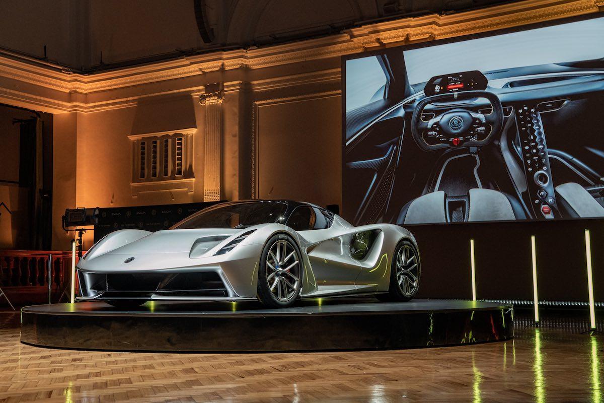 Lotus Evija: Ushering in a New Era of Automotive Ingenuity