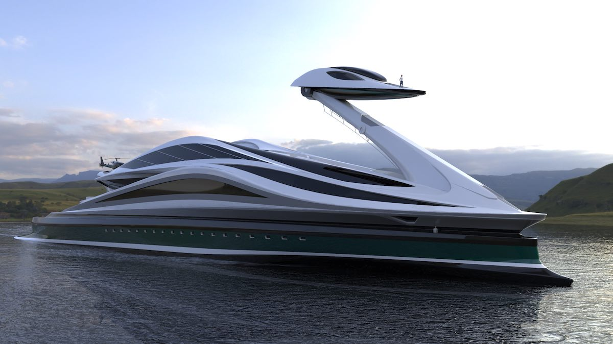 What Dreams Are Made Of: The $500M Avanguardia Mega Yacht Concept