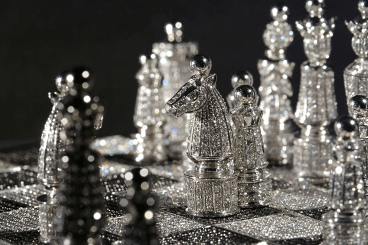 Check Mate: Exclusive Chess Sets That Sell for a King's Ransom